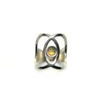 Anillo sideral-2 plata y ópalo 2