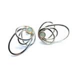 Pendientes SIDERAL-1 plata y ópalo1